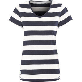 Bergans Bastøy Tee Women White/Navy Striped
